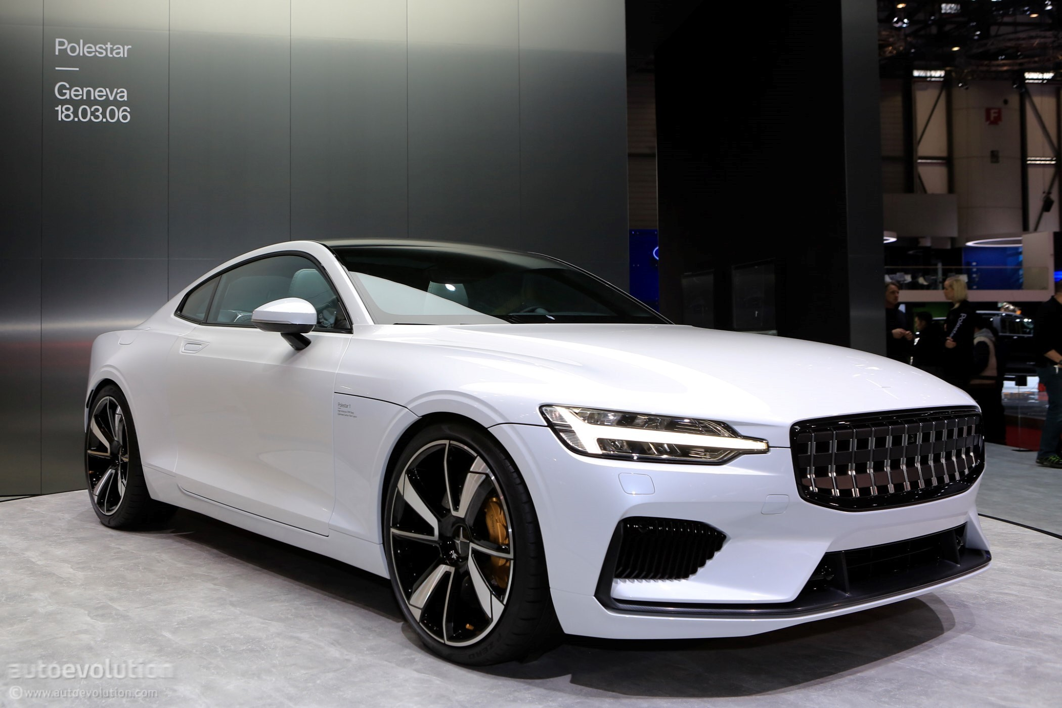 Polestar 1 Goes Live At The 2018 Geneva Motor Show Wearing