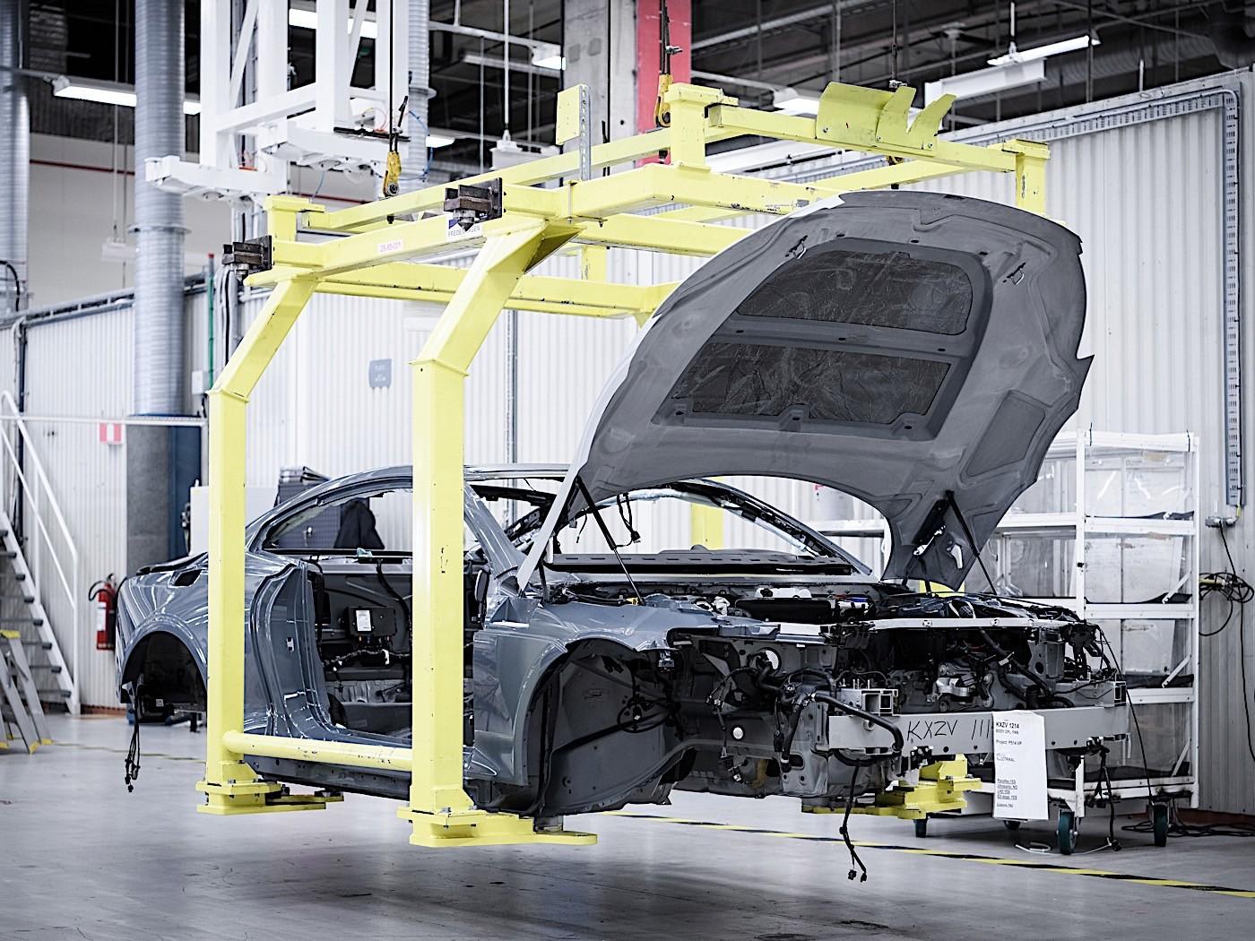 Polestar crash test focuses on carbon body