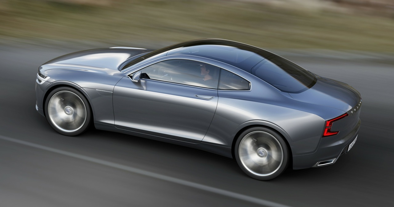 Attractive ... Volvo Concept Coupe ...