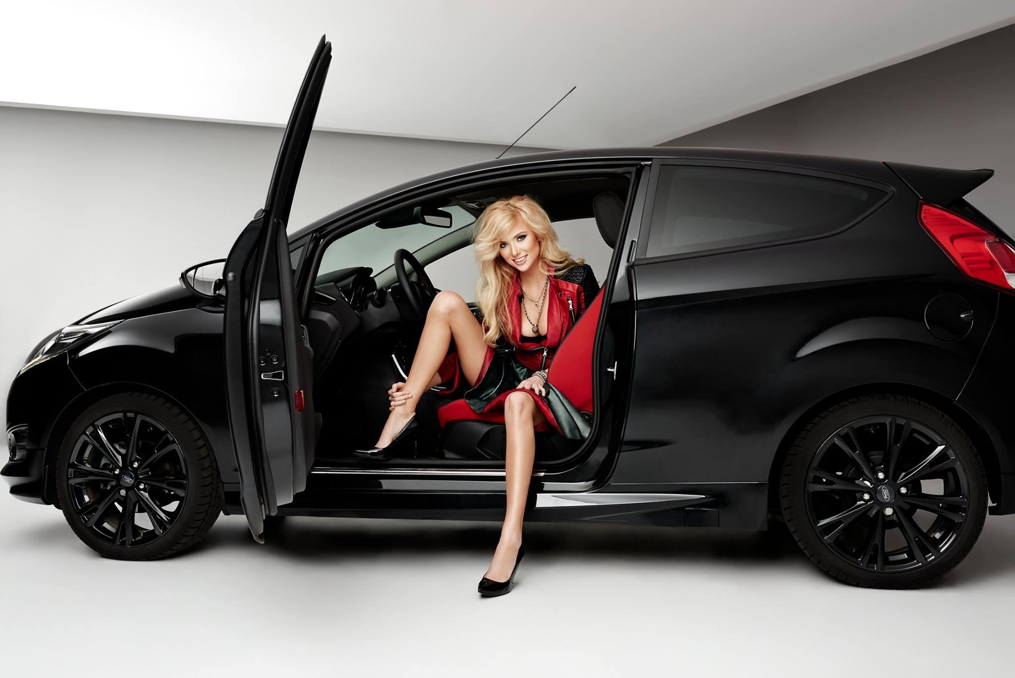 ... Polish Blonde Model Agata Makes a Ford Fiesta Black Edition Look Hot ... & Polish Blonde Model Agata Makes a Ford Fiesta Black Edition Look ... markmcfarlin.com