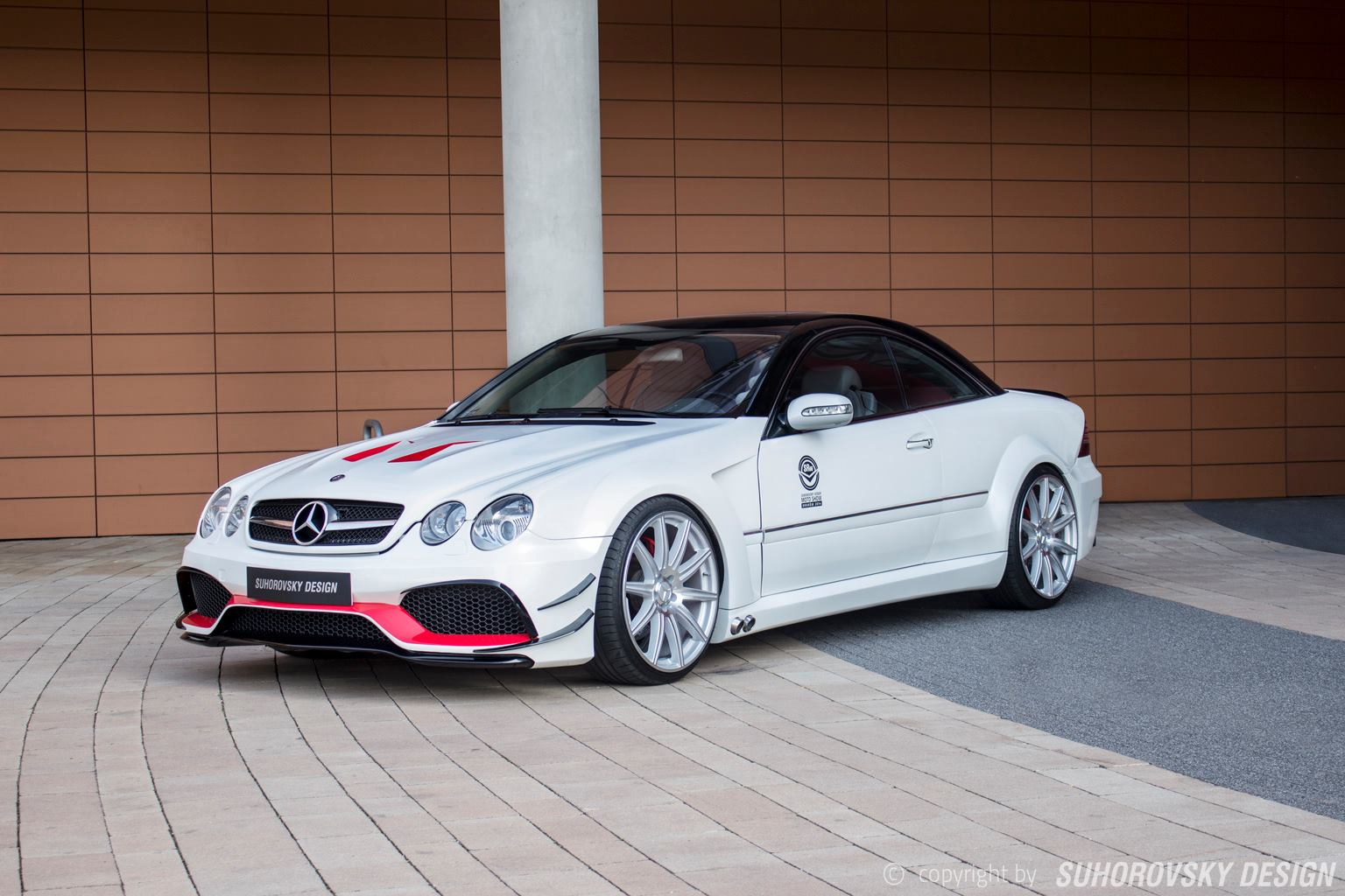 Polish Wide Body Kit Mercedes-Benz CL Features Side Exhausts
