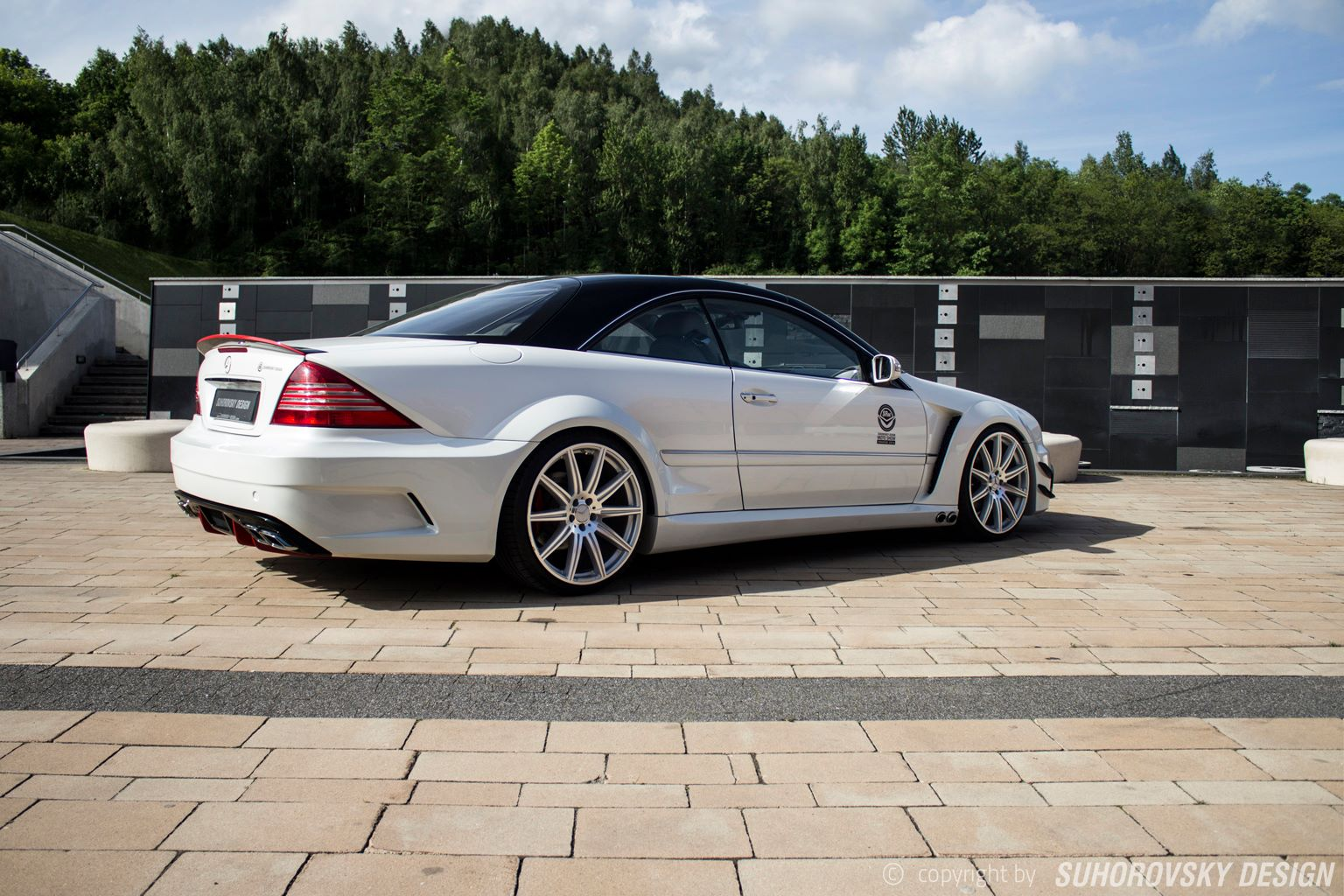 Polish Wide Body Kit Mercedes Benz Cl Features Side
