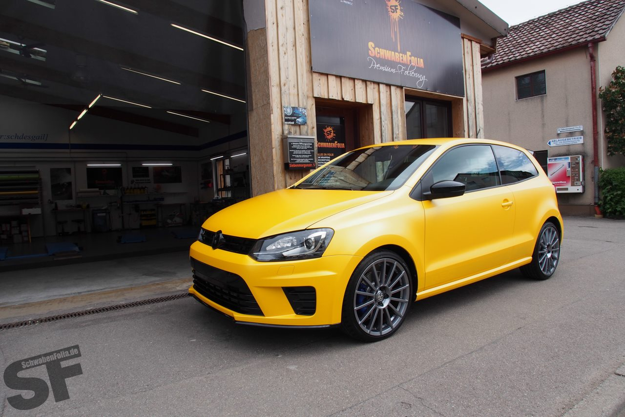 Polo R Wrc Looks Good In Sunflower Yellow Wrap Photo Gallery on Tsi 2 0 T Engine