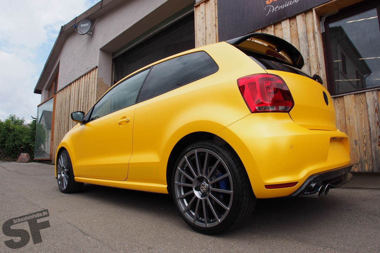 Polo R Wrc Looks Good In Sunflower Yellow Wrap Photo Gallery on Vw 1 2 Tsi Engine