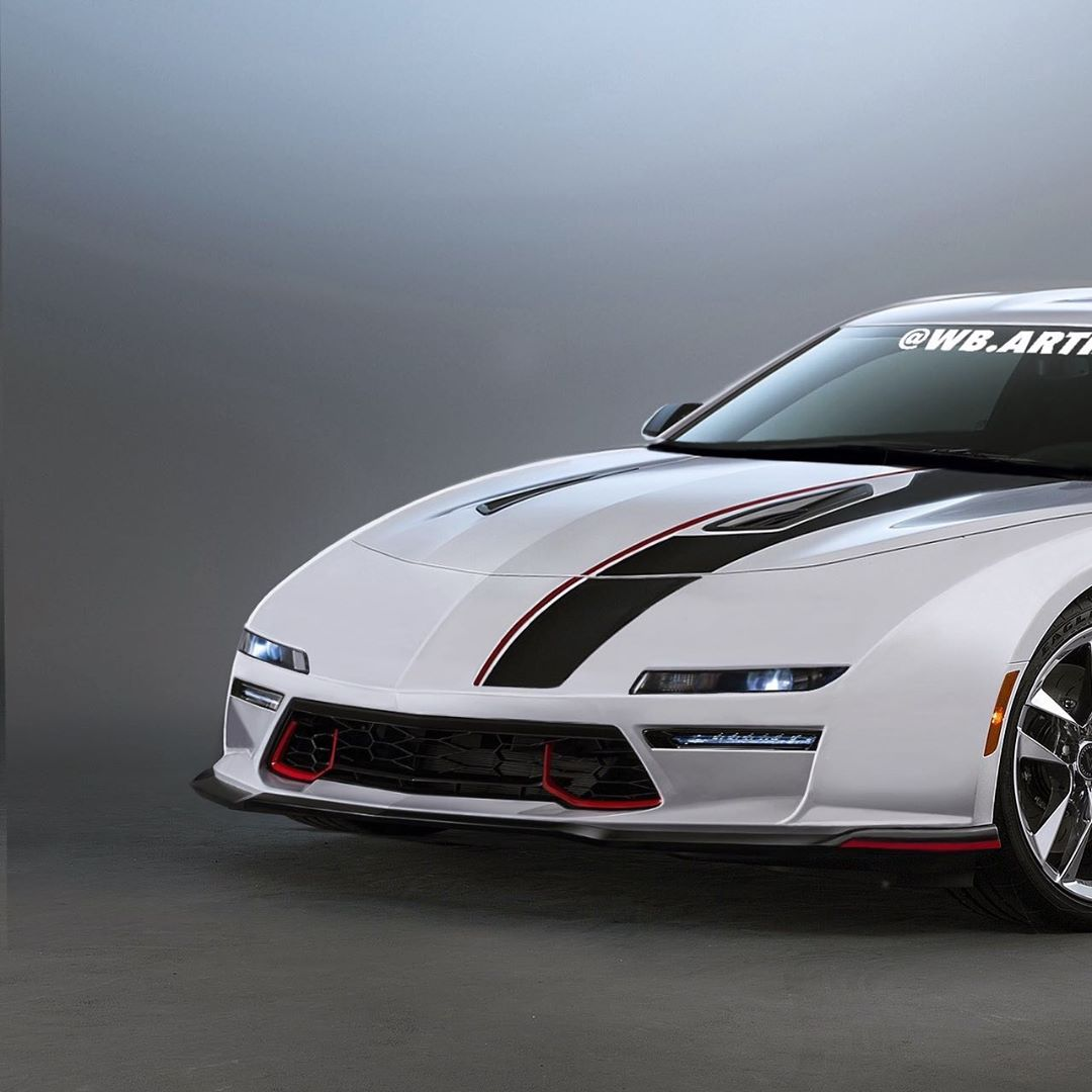 Pontiac Fiero Gets Modernized Rendering, Mid-Engined