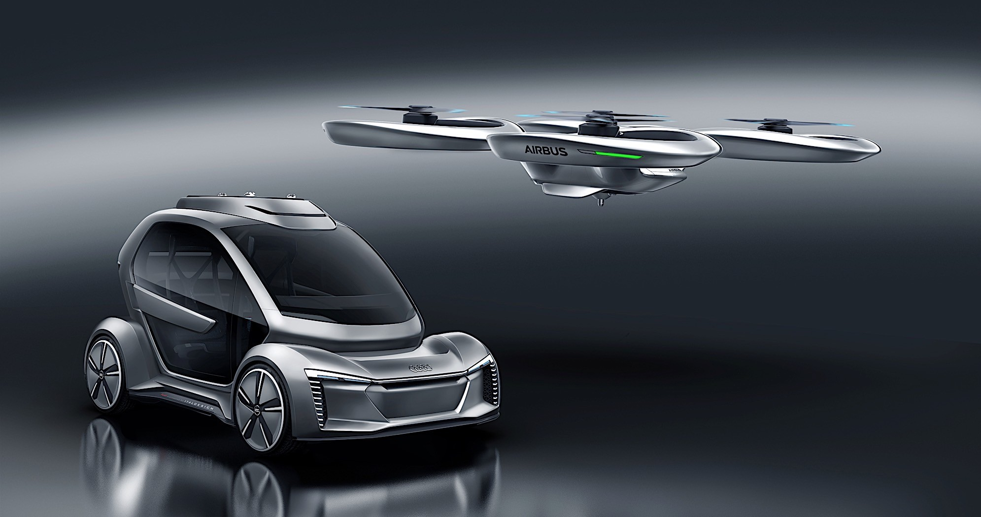 Pop Up Next Is What Happens When Audi And Airbus Have A