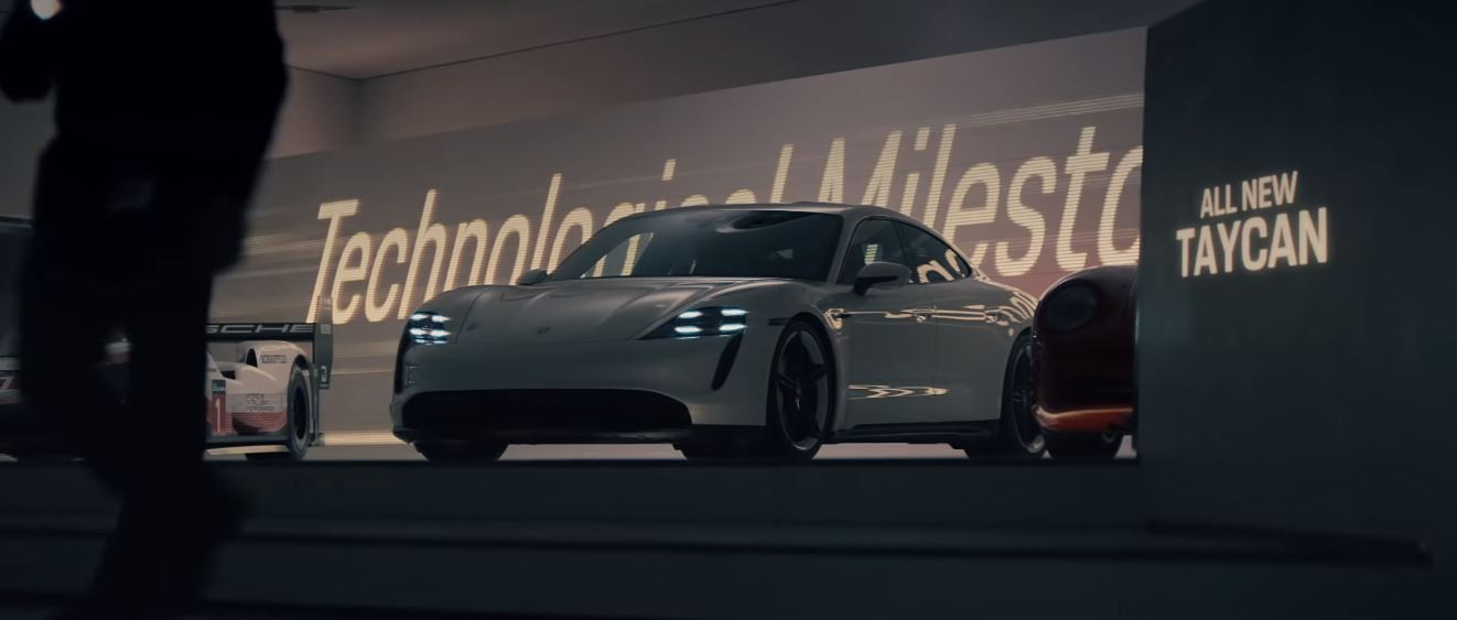 Porsche 2020 Super Bowl Ad  Starring Electric Taycan  Beats Action Movies