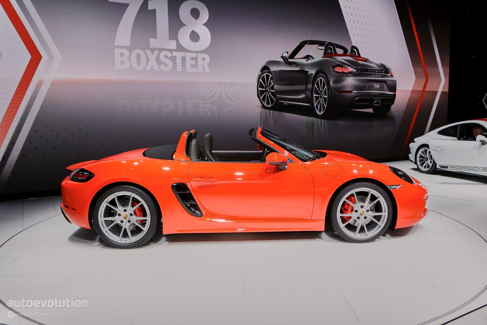 911 R For Sale >> Porsche 718 Boxster Is the Opposite of the 911 R in Geneva - autoevolution