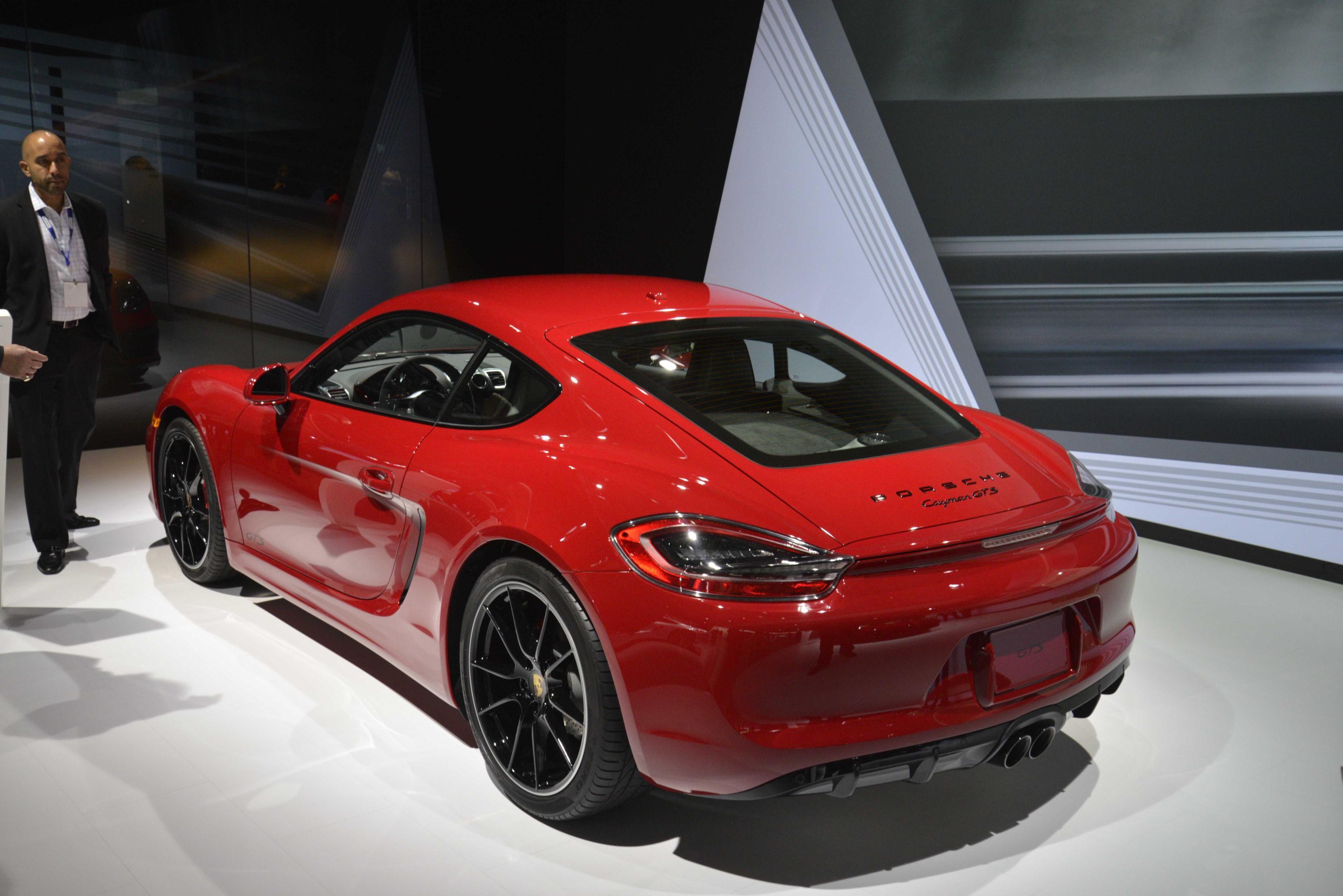 Porsche 911 Carrera GTS and 2015 Cayenne GTS Paint LA in
