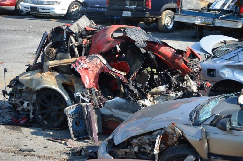 Porsche 911 Gt2 Rs Crash At 160 Mph Autoevolution