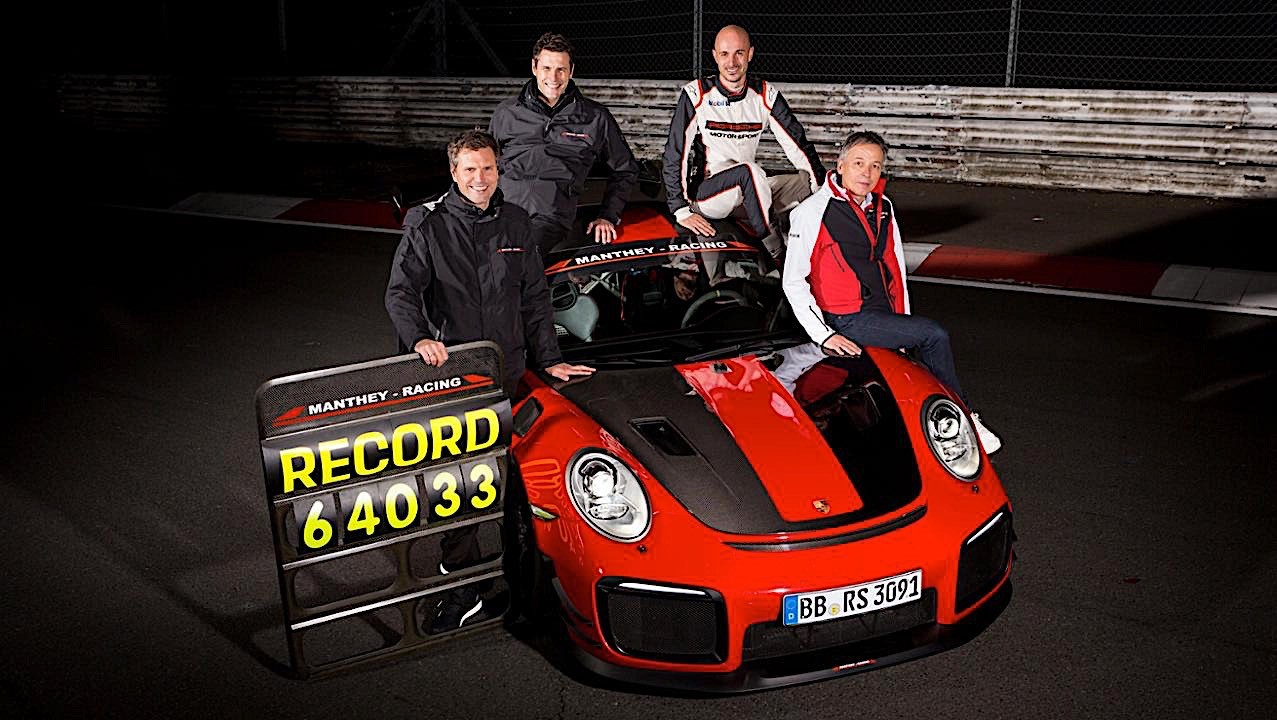 A Porsche 911 GT2 RS MR Nurburgring lap you have to see