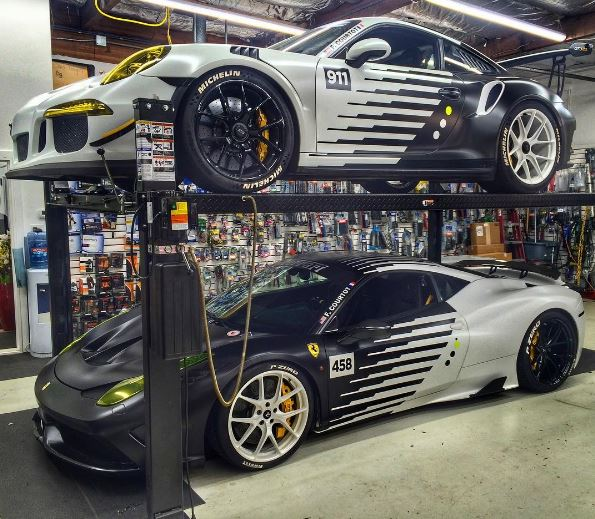 Porsche 911 Gt3 Rs And Ferrari 458 Speciale Get Panda Wrap Combo Autoevolution