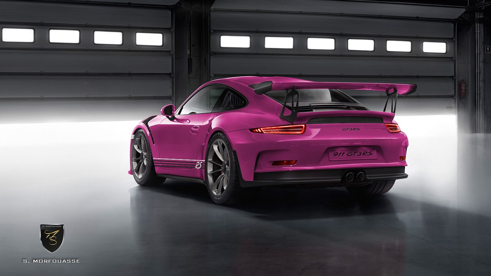 Porsche 911 Gt3 Rs By Porsche Exclusive Rendered