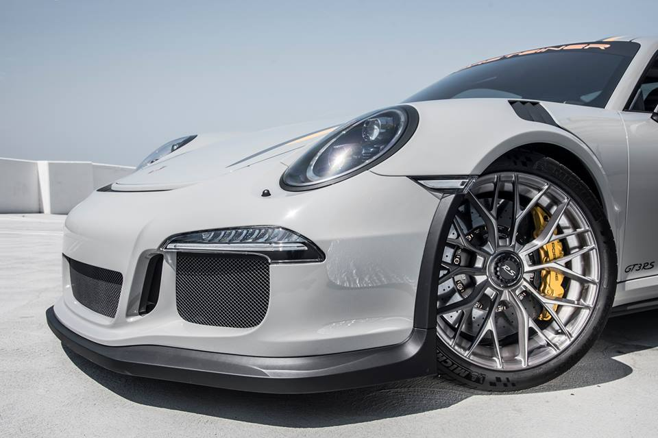 Porsche 911 Gt3 Rs On Vorsteiner Wheels Is A Multi Spoke