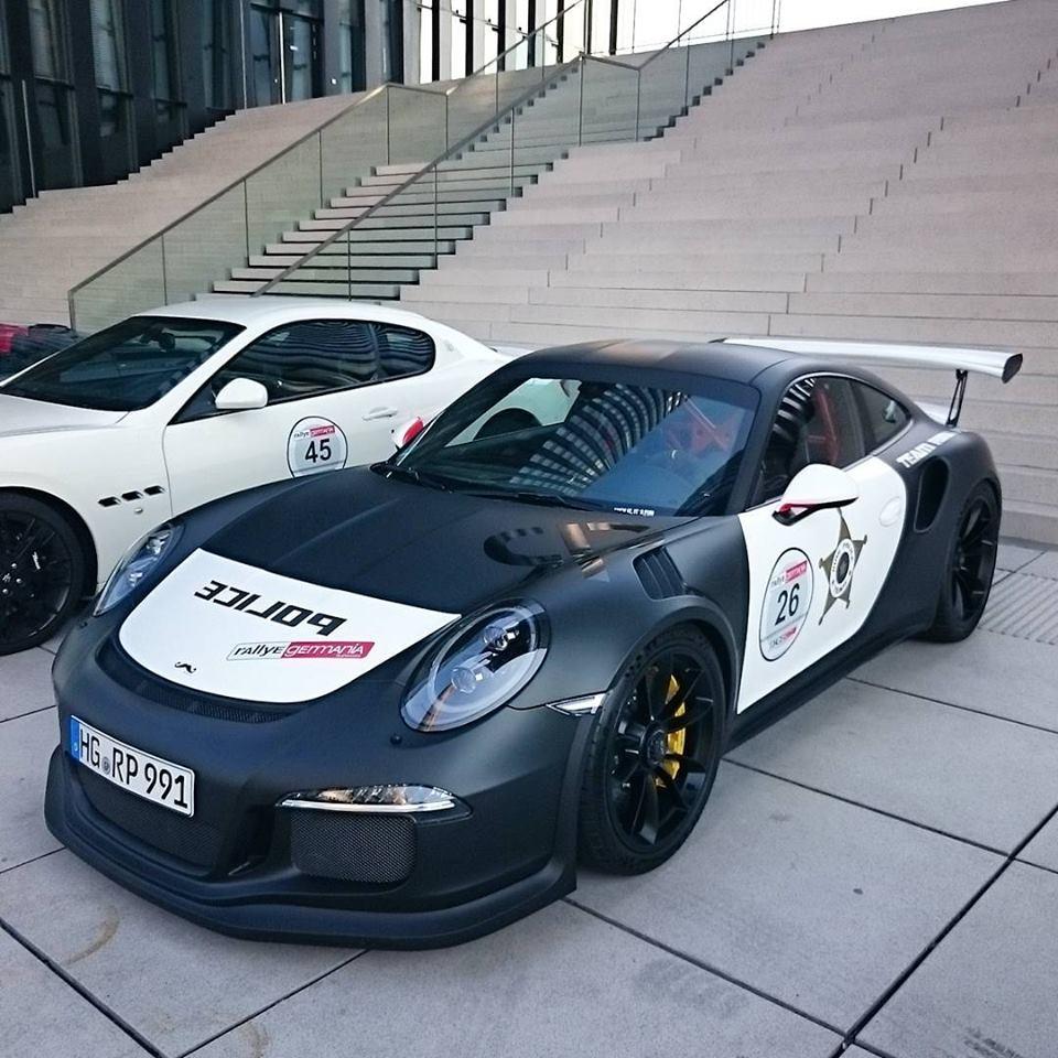 2017 Porsche Cayenne Gts >> Porsche 911 GT3 RS Ring Police Car Is Intimidating - autoevolution