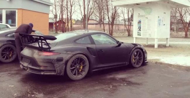 Porsche 911 Gt3 Rs Spotted Testing In Swedish Winter 515