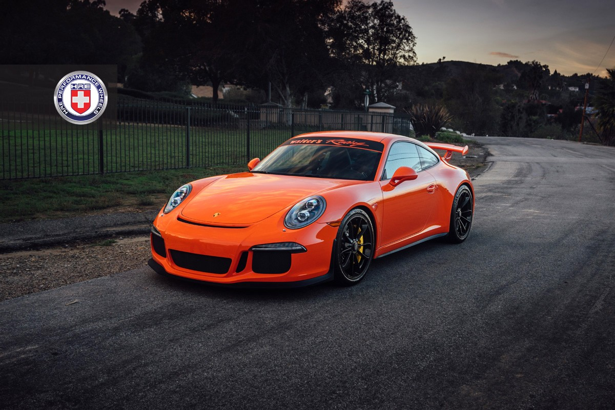 Porsche 911 Gt3 Twins Sport Hre Custom Wheels Autoevolution