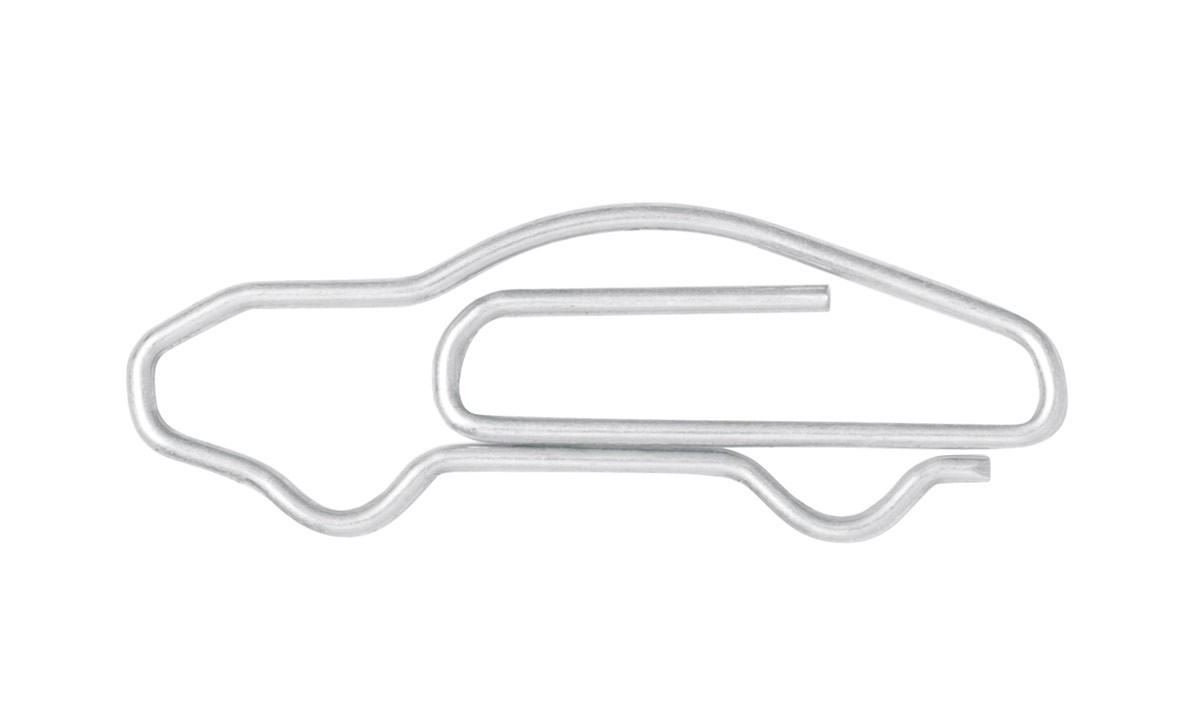 Porsche 911 Paperclips Are the Coolest Office Supplies Ever