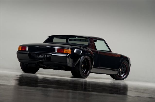 porsche 911 powered 914 is like a classic cayman gt4 outcast autoevolution. Black Bedroom Furniture Sets. Home Design Ideas