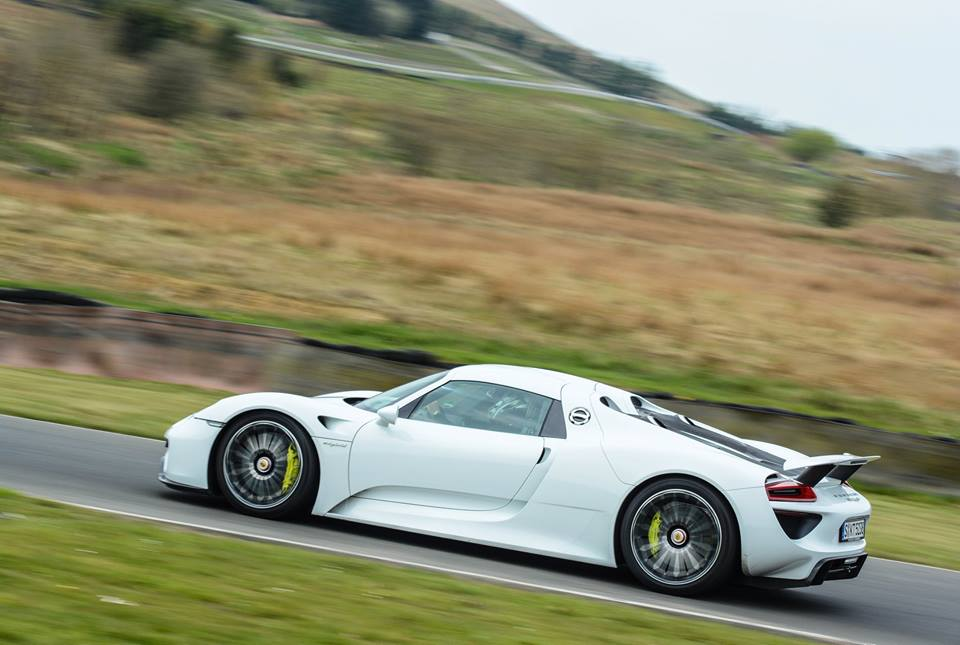 Porsche Track Day For Top Gear Magazine On Knockhill Racing Circuit