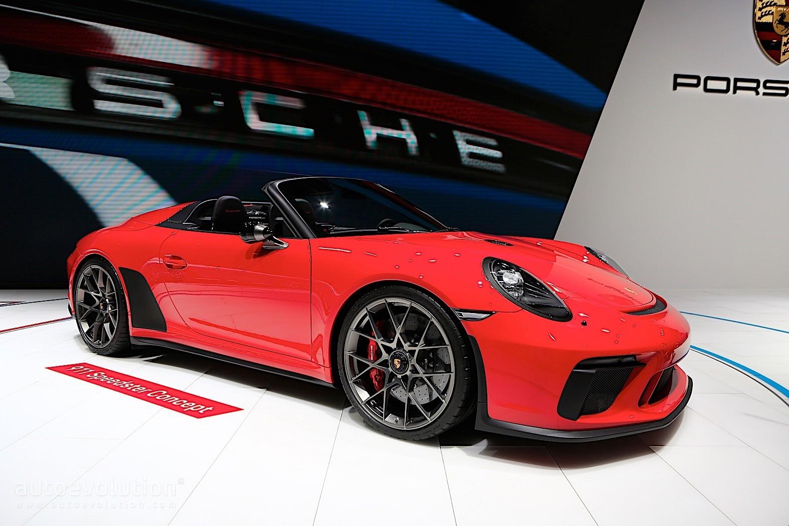 Porsche 911 Speedster Concept Shines In Paris 1 948 Units