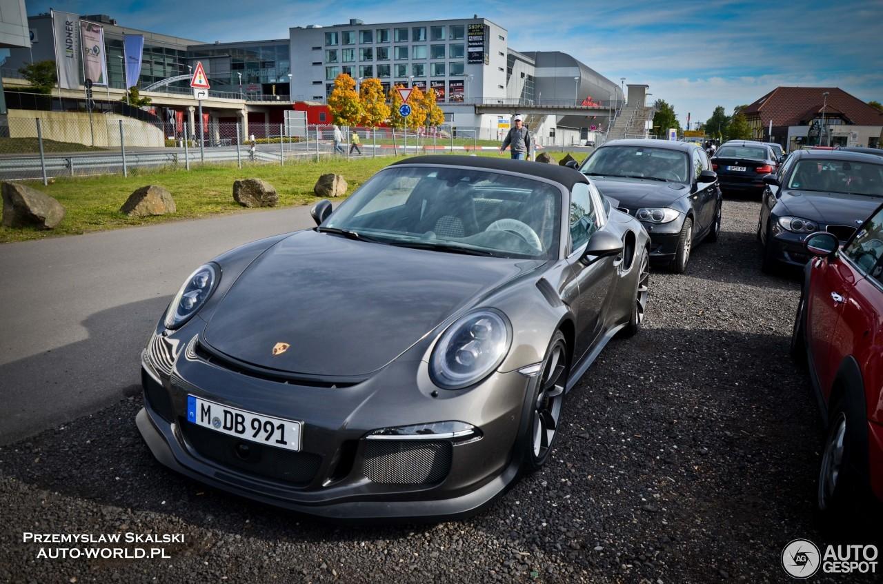 2015 Porsche 911 Targa Hd Wallpapers Autoevolution