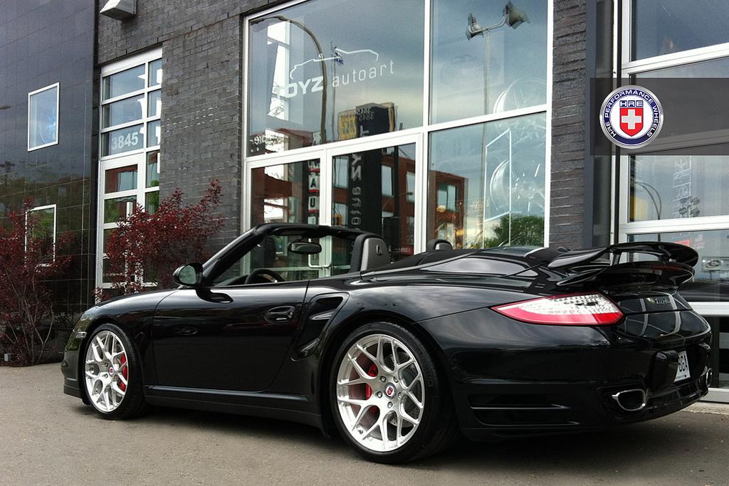 Porsche 911 Turbo Cabrio On Hre Wheels Autoevolution