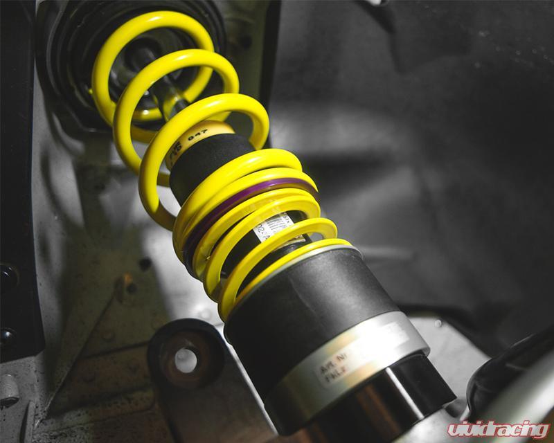 Porsche 911 Turbo Hydraulic Lift Kit Rises Over A Hot