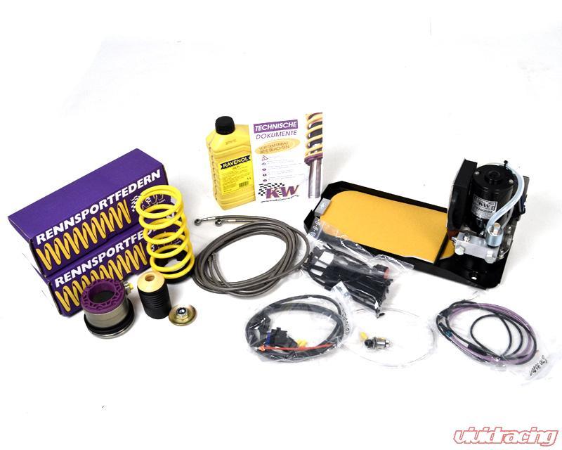 Hydraulic Lift Kits : Porsche turbo hydraulic lift kit rises over a hot