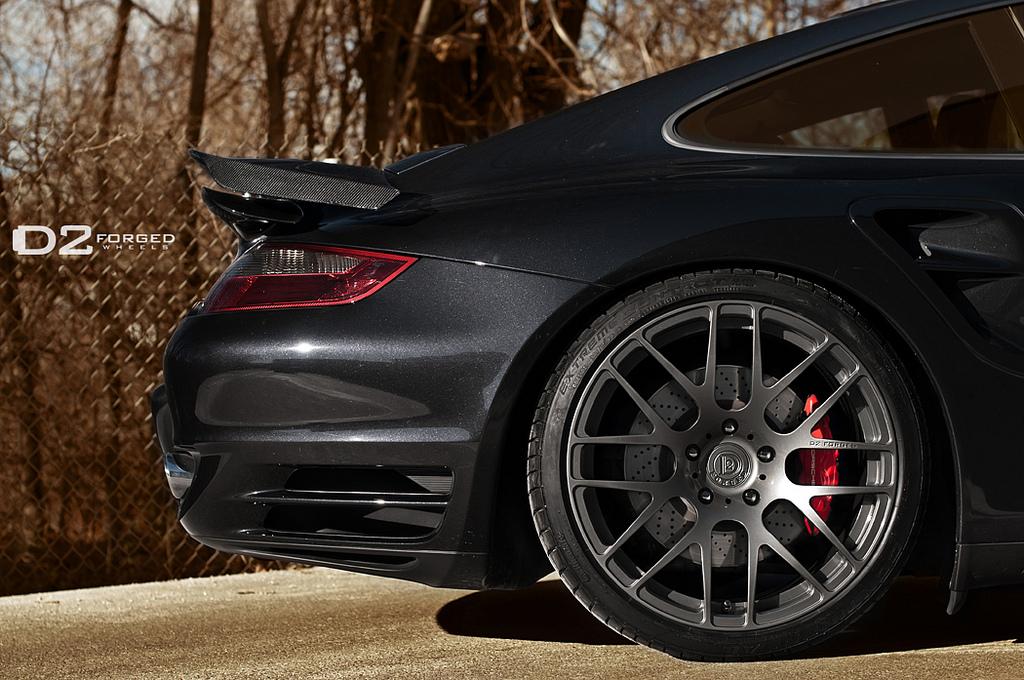 Porsche 911 Rims >> Porsche 911 Turbo Proudly Showing D2forged Rims Autoevolution