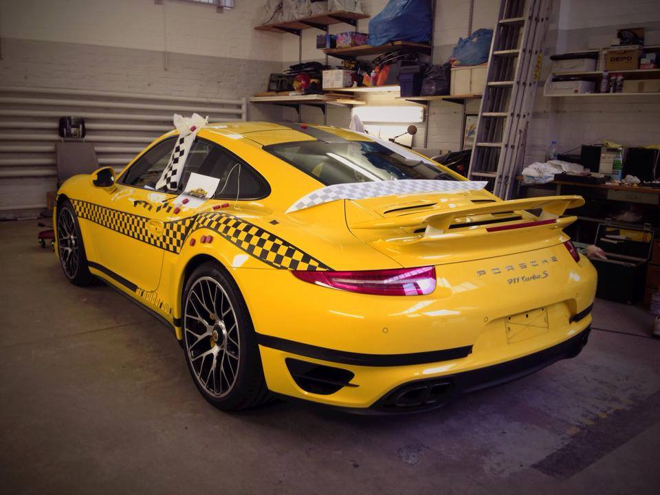 Porsche 911 Turbo S Could Be The Fastest Taxi In The World