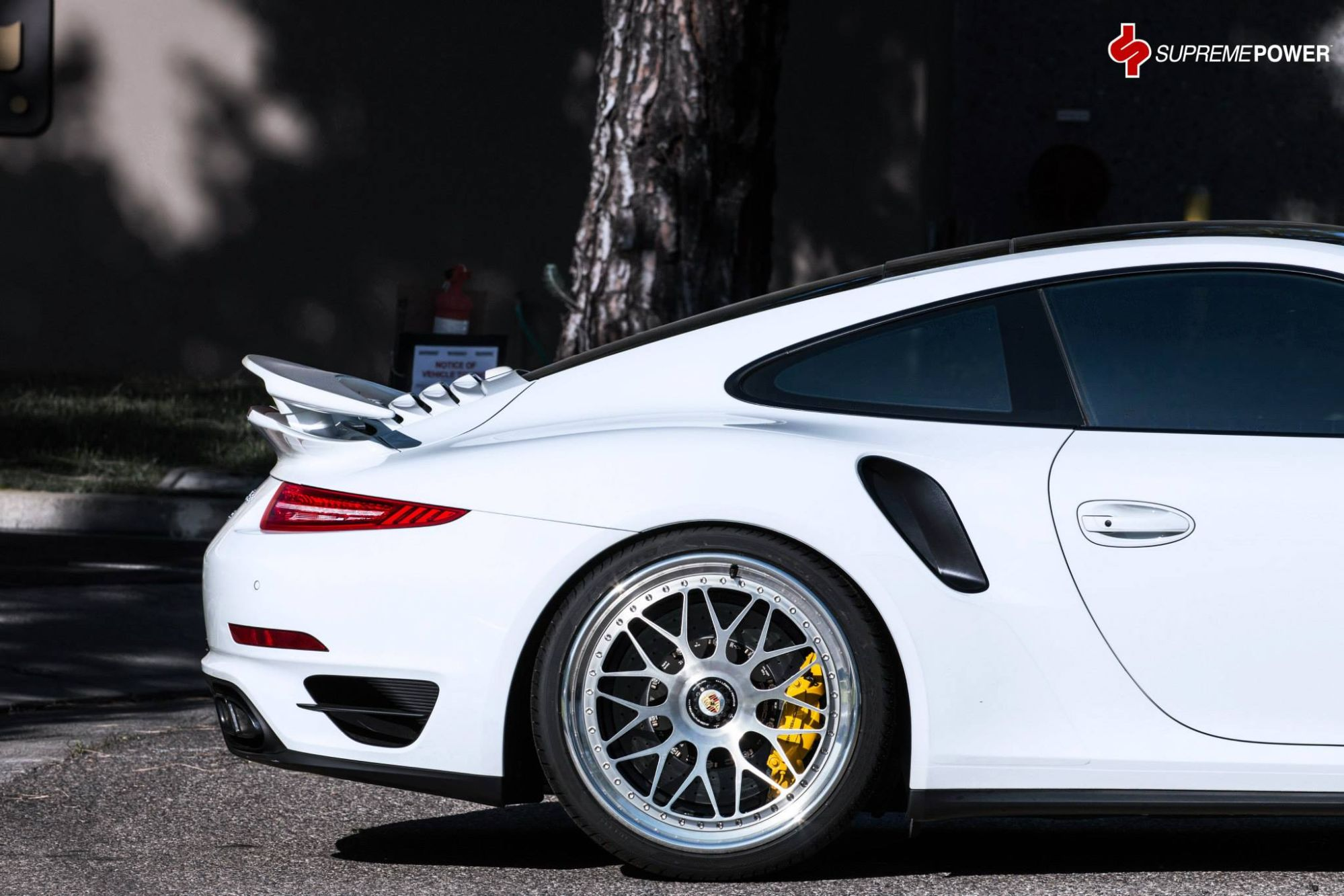 Porsche 911 Turbo S On Hre Classic Wheels Spells Retro