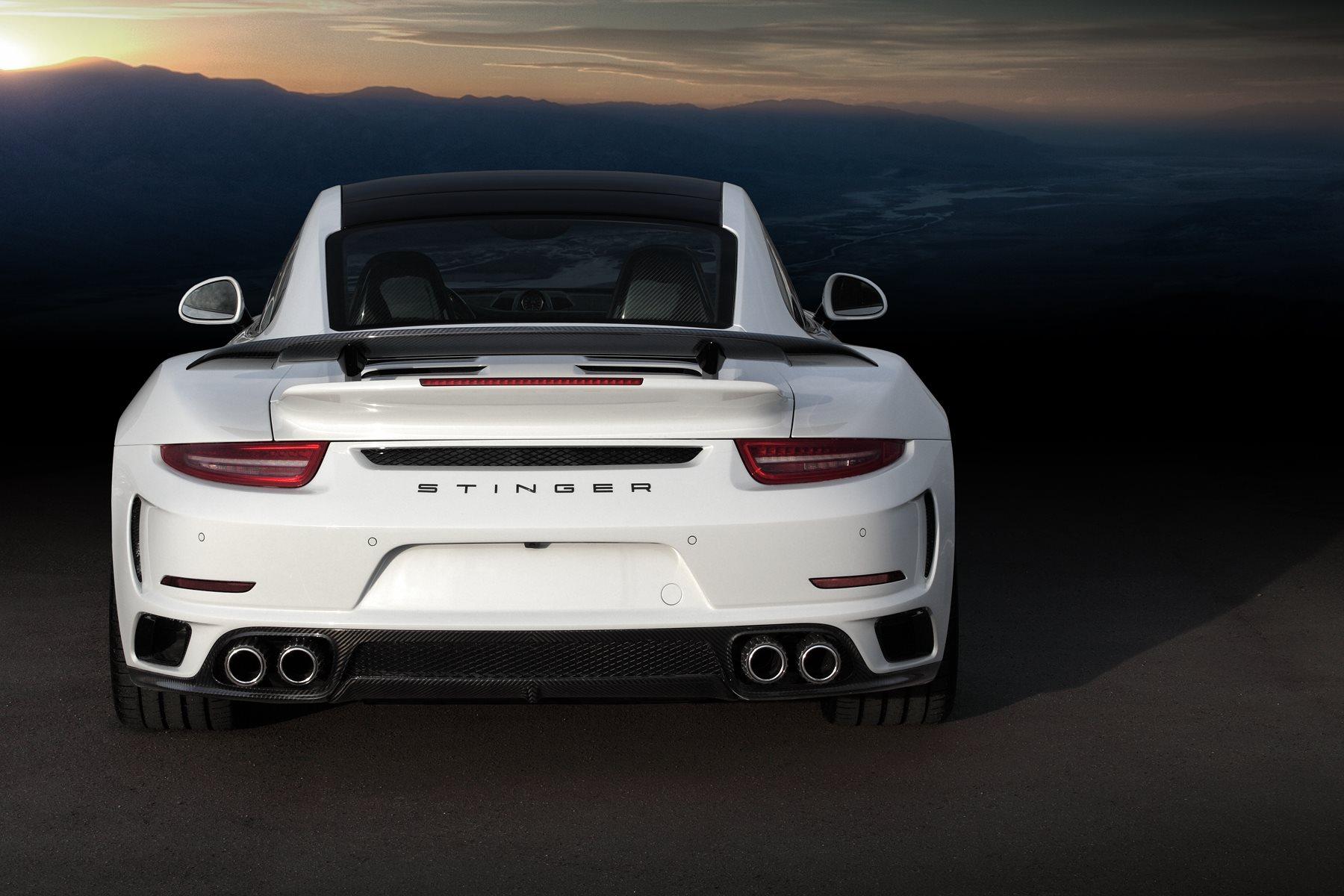 porsche 911 turbo stinger gtr by topcar has 24k gold interior autoevolution - 911 Porsche 2015 White