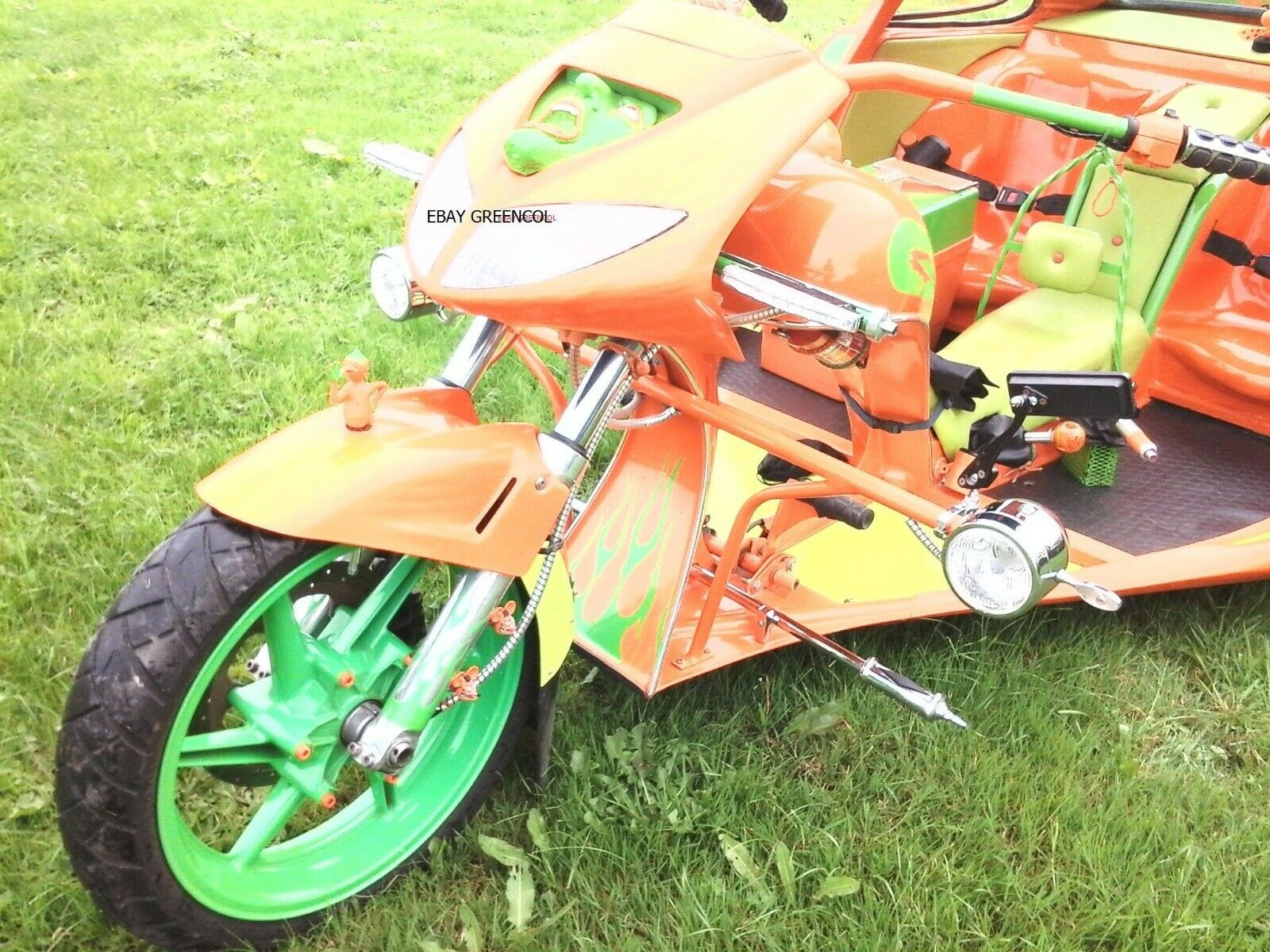 Porsche 911 Turbo Trike Is Real Up For Grabs On Ebay Autoevolution