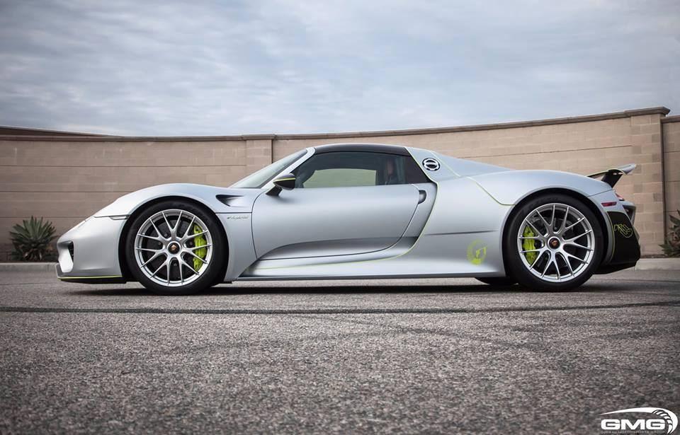 this porsche 918 spyder received skid plates to protect. Black Bedroom Furniture Sets. Home Design Ideas