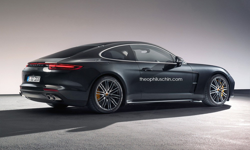 new porsche panamera coupe rendered as modern day 928