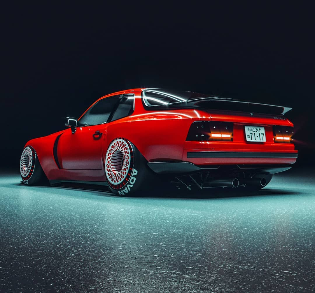Porsche 944 Chili Pepper Is Something New Something Old Autoevolution