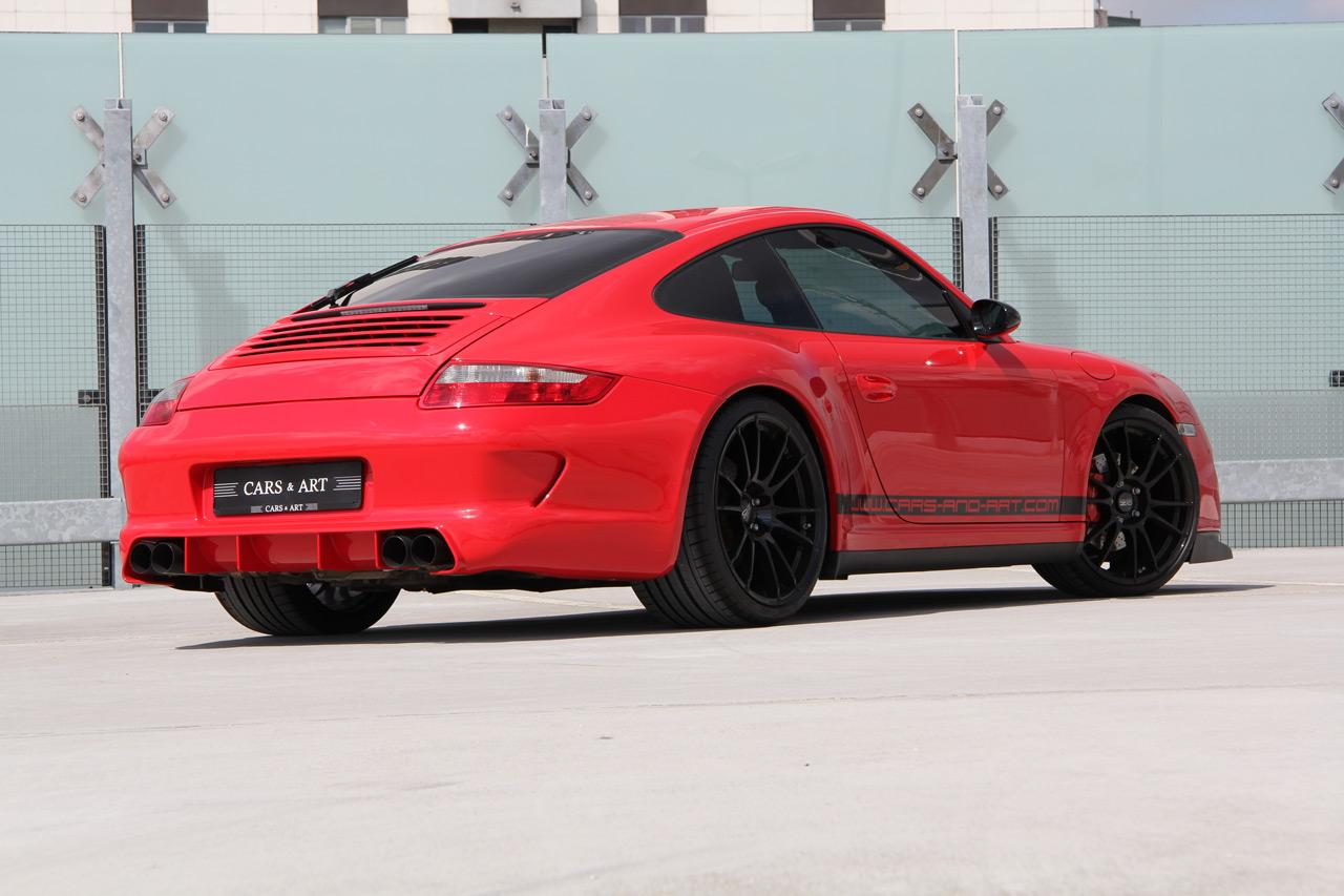 porsche 997 carrera 4s tuned by cars art autoevolution. Black Bedroom Furniture Sets. Home Design Ideas