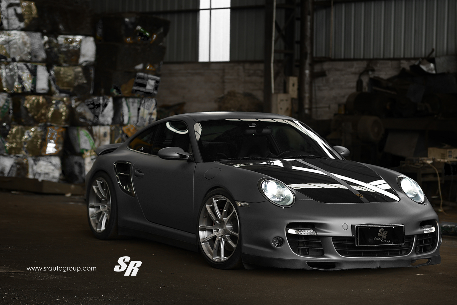 Porsche 911 Turbo 997 Restyled By Sr Autogroup Autoevolution