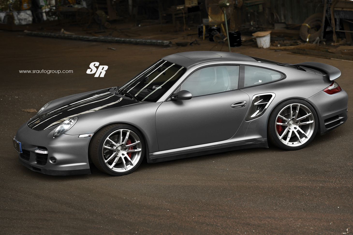 porsche 911 turbo 997 restyled by sr autogroup autoevolution. Black Bedroom Furniture Sets. Home Design Ideas