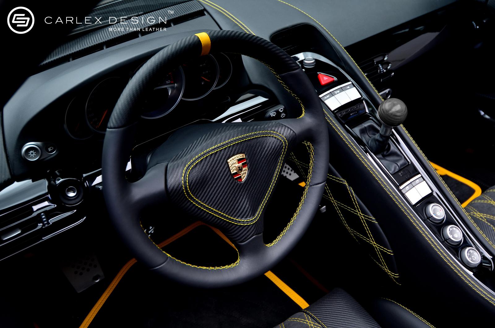 Porsche Carrera gt Interior Porsche Carrera gt by Carlex