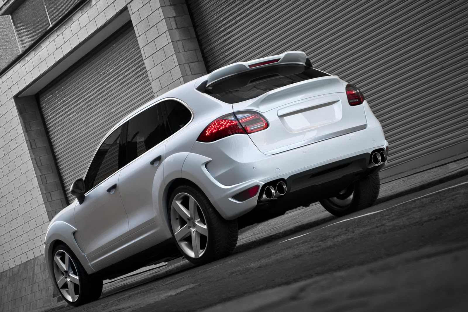 Porsche cayenne diesel supersort wide track by kahn - Super sayenne ...