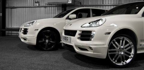 Porsche Cayenne Kahn Super Sport Tiptronic English
