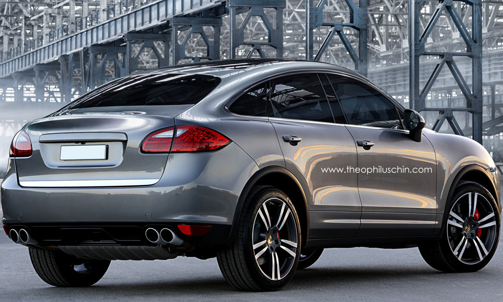 Porsche Cayenne Sports Activity Coupe Rendering Autoevolution