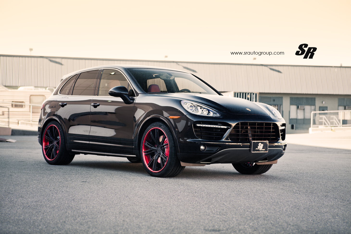 Porsche Cayenne Turbo S Gets 22s From Pur Autoevolution