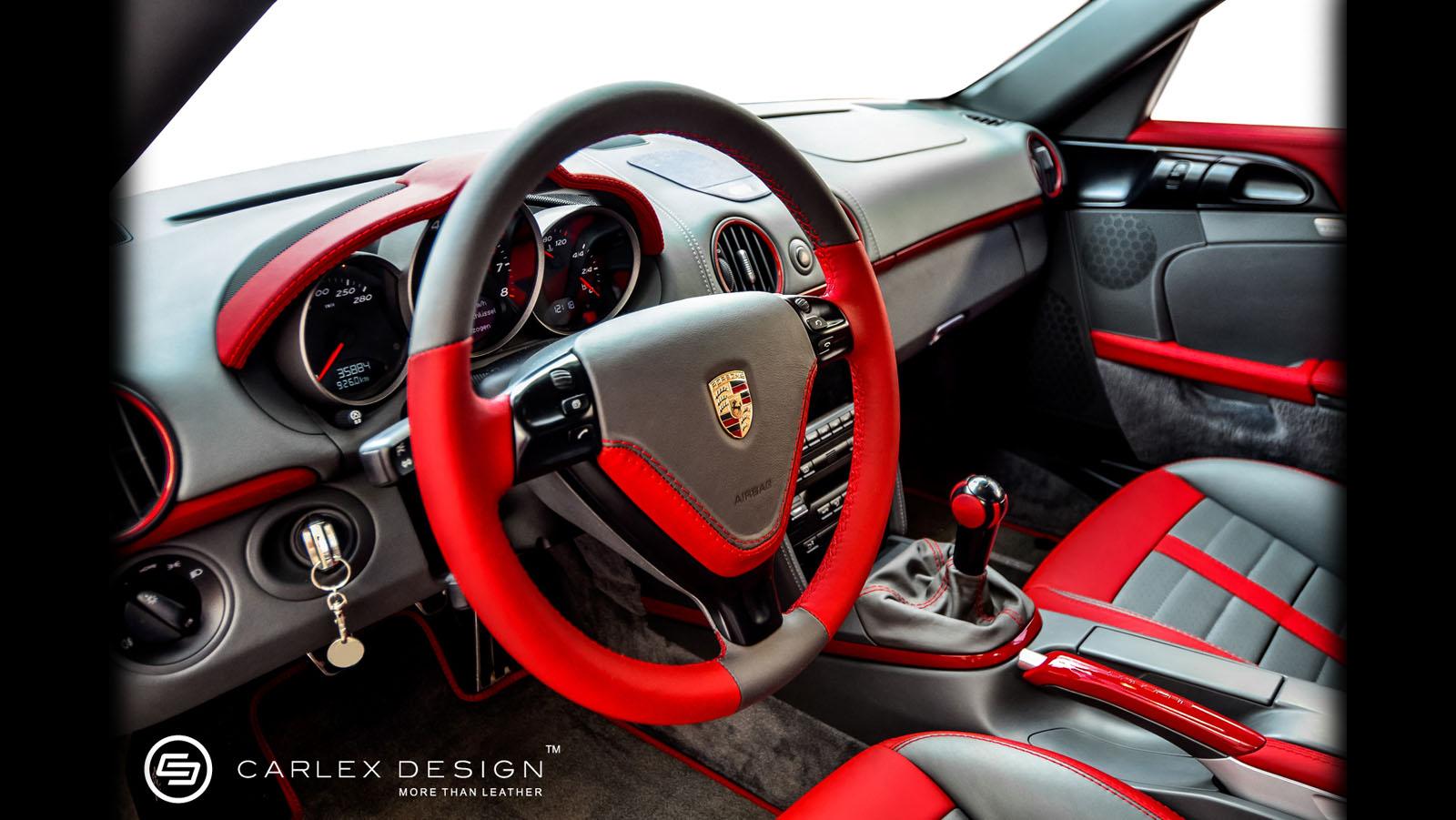 Porsche Cayman Gets Custom Interior By Carlex Design Autoevolution