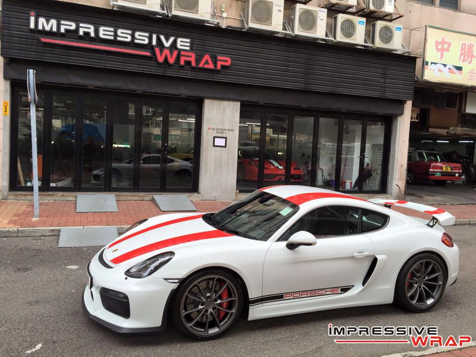Porsche Cayman Gt4 Gets 2017 Porsche 911 R Livery In Hong