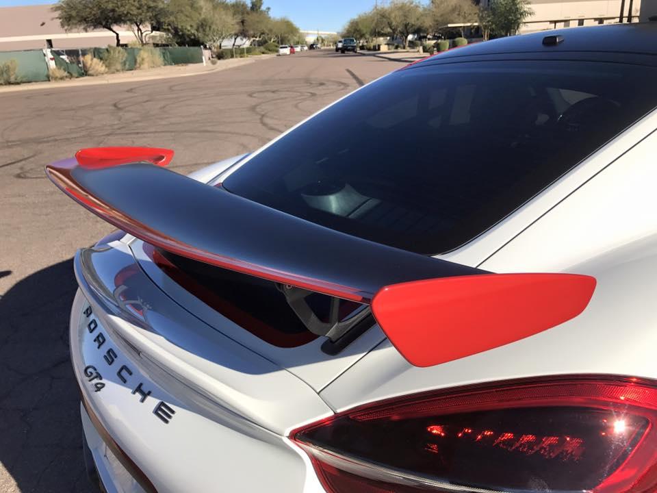 Porsche Cayman Gt4 Gets Tricolor Race Livery Looks