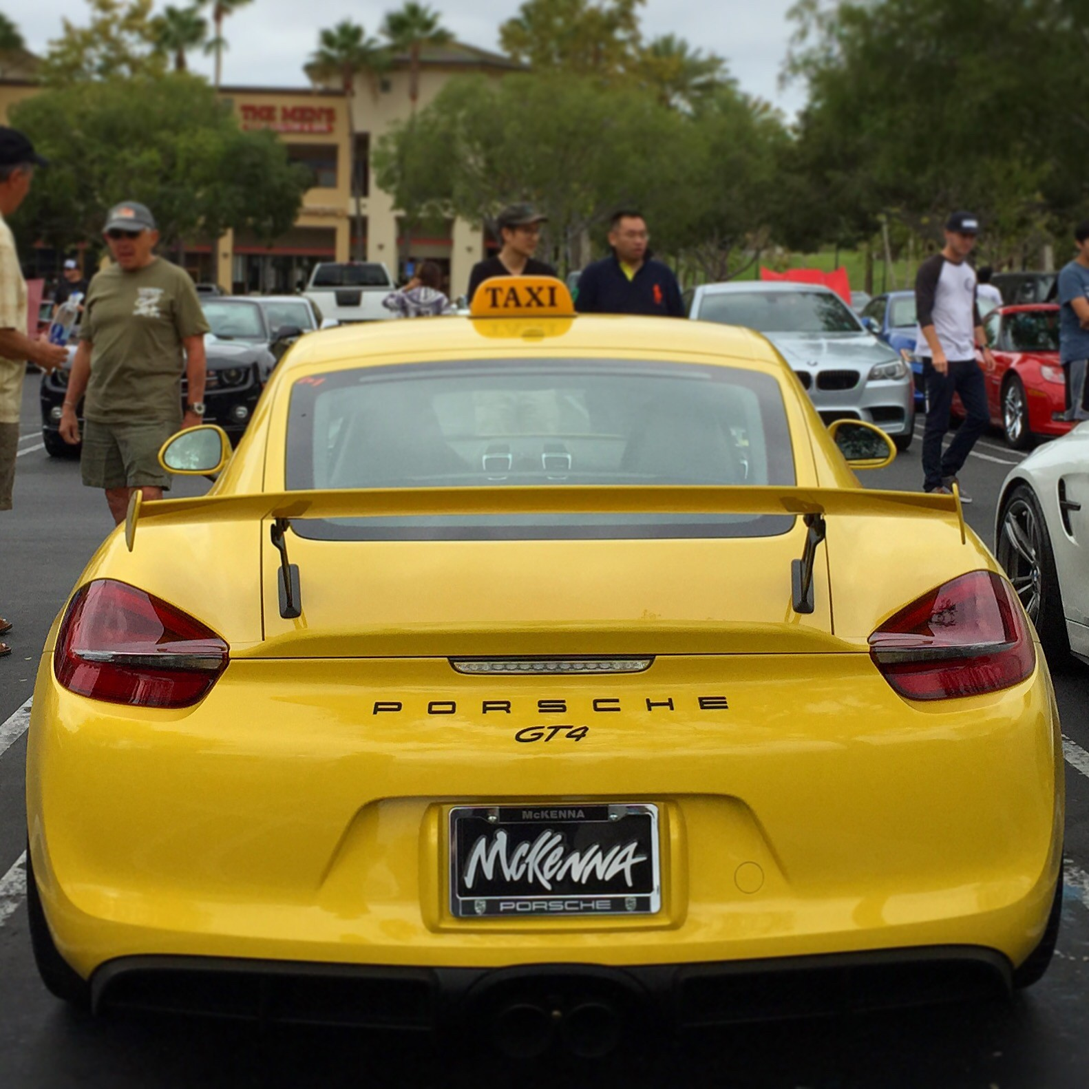 Porsche Gt4 Turbo >> Porsche Cayman GT4 Taxi Shows Up at Cars & Coffee in ...