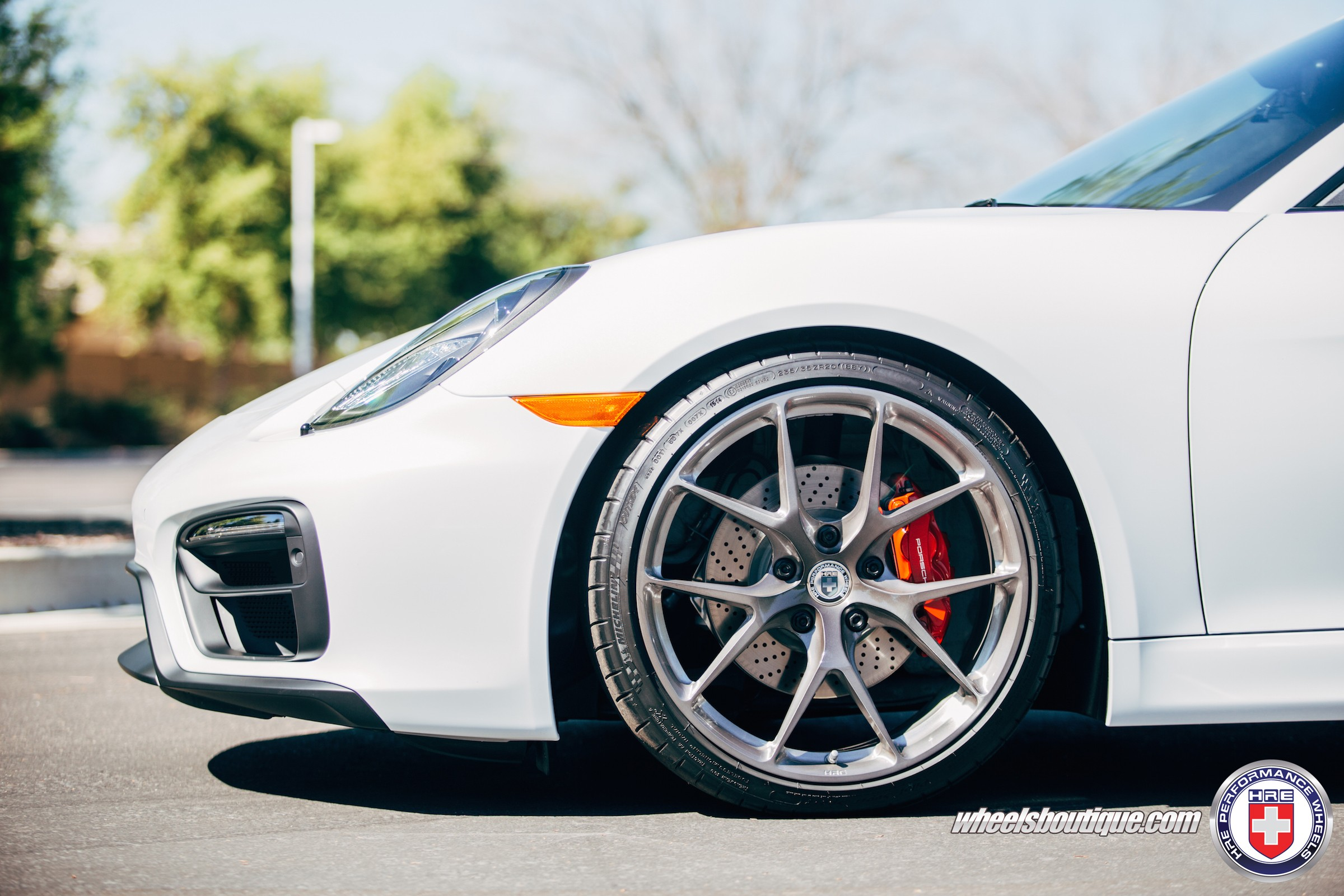 Porsche Cayman Gts On Hre Wheels Looks Technical Photo